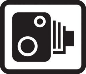 UK Traffic Camera sign
